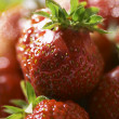 Strawberry's pyramid — Stockfoto