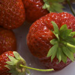 Strawberry on plate — Stock Photo #1476028