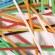 Royalty-Free Stock Photo: Colored straw