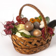 Stock Photo: Vegetable's basket