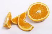 Ripe orange — Stock Photo
