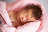 轨枕宝宝 — 图库照片