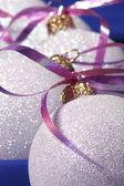 Dekorace vánoční cetka — Stock fotografie