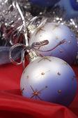 Bauble natal decorado — Foto Stock