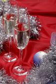 New year's still life — Stock Photo