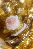 Santa decoration — Photo