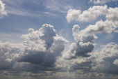 Clouds under the sunny light — Stock Photo