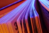 Pisanie książki — Zdjęcie stockowe