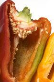 Slaced paprika — Stock Photo
