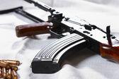 Maschine karabinerhaken — Stockfoto