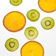 Sliced fruit — Stock Photo