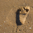 Footstep — Stock Photo