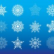 Snowflake icon - Stockvectorbeeld