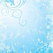 Blue winter background — Stock Vector #1297514