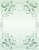 Ornate frame — Vetorial Stock