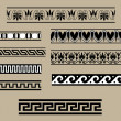 Traditional architectural ornament set — Stock Vector #2609834