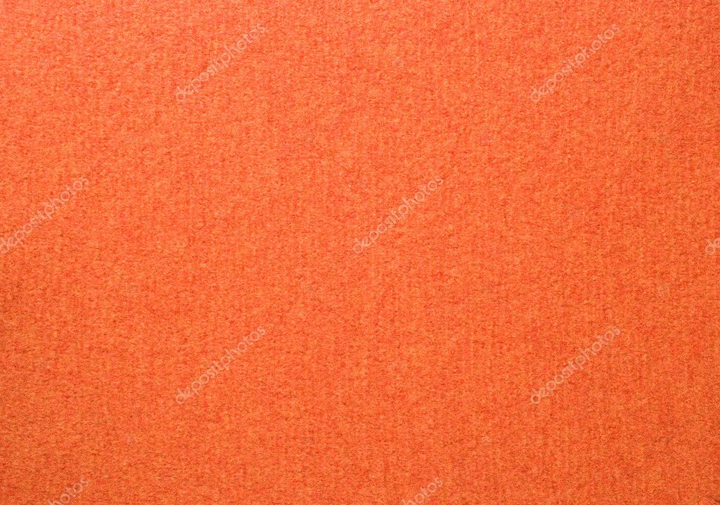 Close up of orange colored wool textile in Hi-Res — Stock Photo #2478000