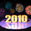 New Year of 2010 - Stock Photo