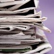 Newspapers — Stock Photo #1227360