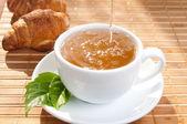 朝のお茶 — ストック写真