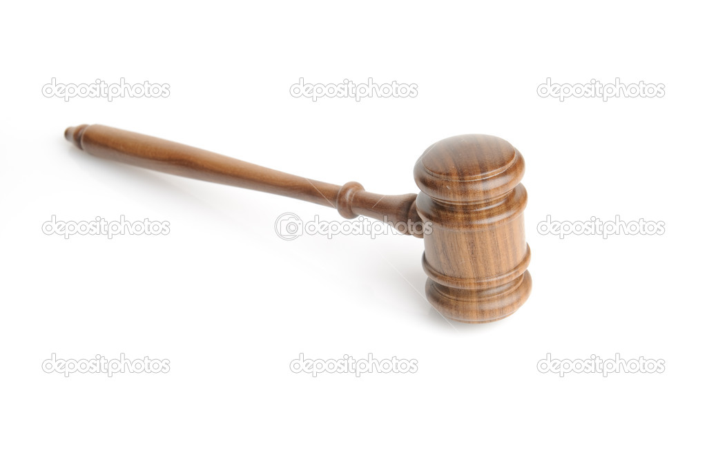 Wood gavel — Stock Photo #1227899