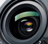 Lente de la cámara — Foto de Stock