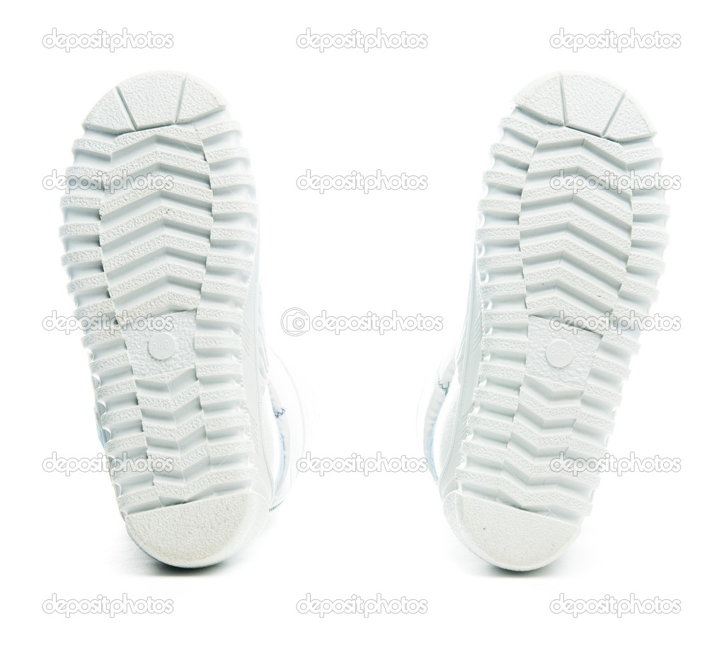 Isolated winter boots  Stock Photo #2162219