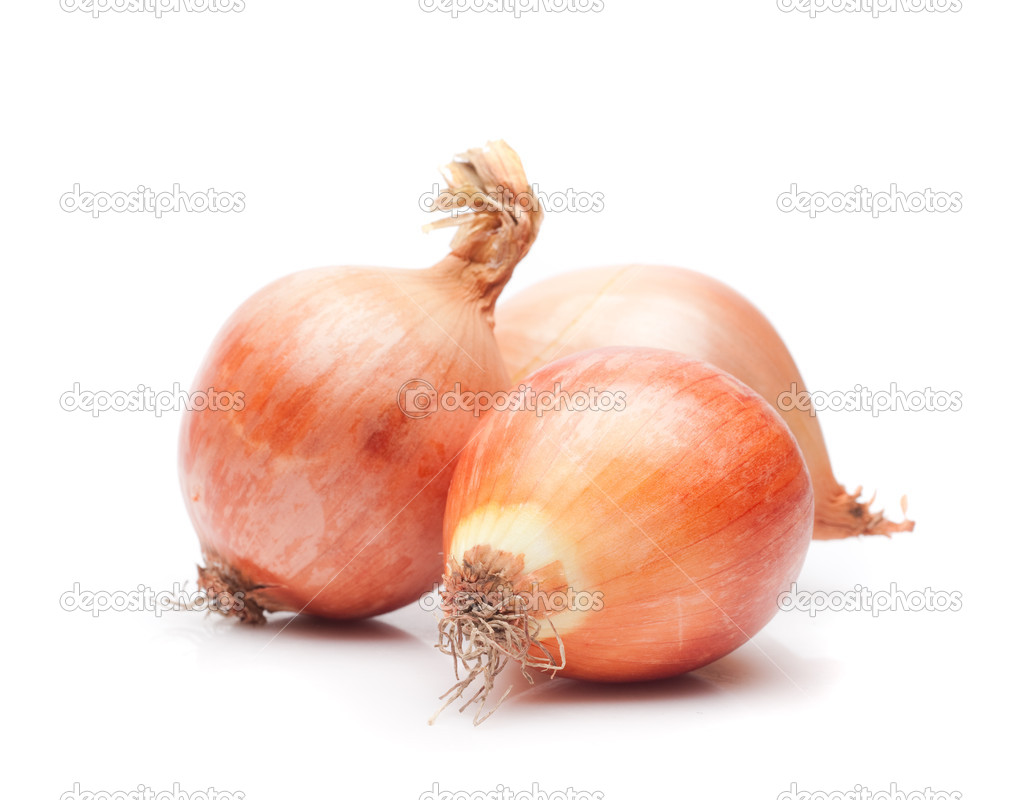 Isolated onions — Stock Photo #2446024