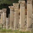 Stock Photo: Columns in ancient Ephesus, Turkey