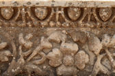 Pattern on the wall in ancient Ephesus — Stock Photo