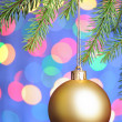 christmas  ball&quot — Stock Photo #1292334