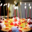 Birthday cake — Stock fotografie