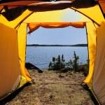 Tent opening — Stock Photo #1294068