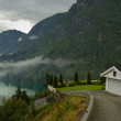 Norwegian fjord — Stock Photo
