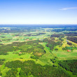 Aerial view of rural landscape — Stock Photo #1692973