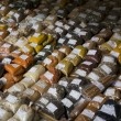 Spices at a marketplace. - Foto Stock