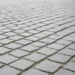 Block pavement. — Photo