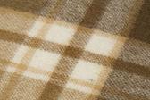 Woollen plaid — Stock Photo
