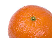 Tangerine on a white background — Stock Photo