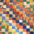 Patchwork quilt — Stock Photo