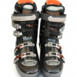 Stock Photo: Mountain-skiing boots