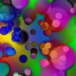 Abstract background of colored circles — Stock Photo #1550601