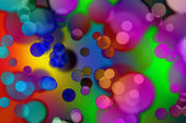 Abstract background of colored circles — Stock Photo