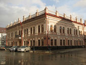 The old two-storey house in Kazan — Stock Photo