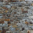 Wall built of natural stone rectangular - Stock Photo