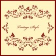 Royalty-Free Stock Vectorielle: Retro frame