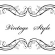 Vector de stock : Classical vignette