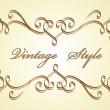 Royalty-Free Stock Vektorgrafik: Classical vignette