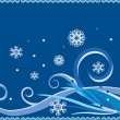 Winter background — Stock Vector #1415264