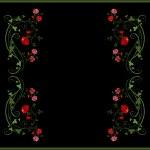 Vintage floral frame — Stock Vector #1435869